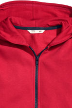 Hooded jacket - Red - Kids | H&M CN 3
